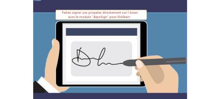 Module AzurSign pour Dolibarr
